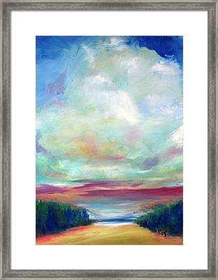 Highway To Happy Places Framed Print by Patricia Taylor
