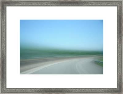 Highway To Heaven Framed Print by Hans Kool