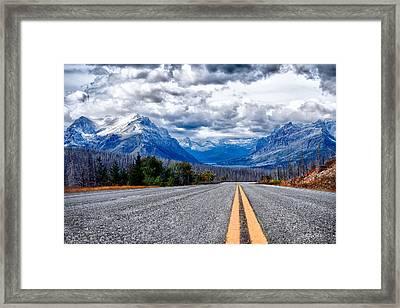 Highway To Heaven Framed Print by Renee Sullivan