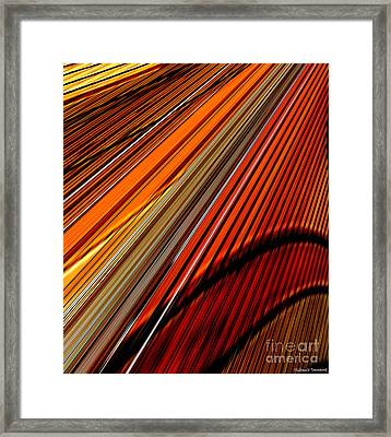 Highway To Sun Framed Print