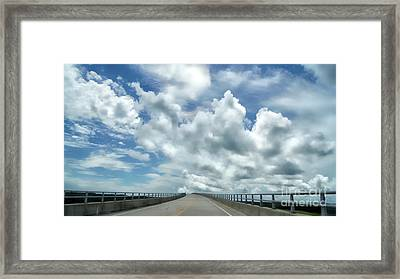 Highway To The Heavens Framed Print