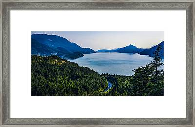 Hike For One Shot Framed Print by Britten Adams