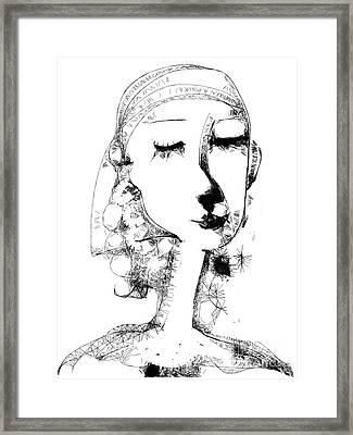 Hilda Framed Print by Elaine Lanoue