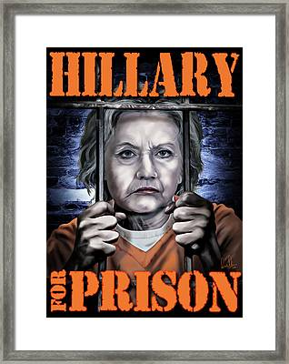 Hildabeast Framed Print by Don Olea