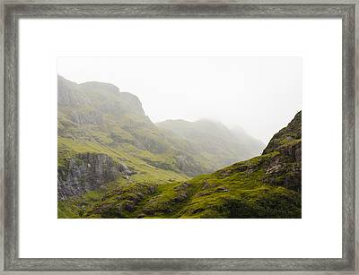 Framed Print featuring the photograph Hill And Glen by Christi Kraft