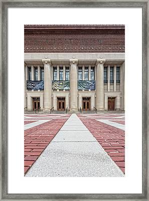 Hill Auditorium U Of M Framed Print