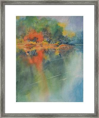 Hill Country Abstract No 3 Framed Print by Virgil Carter