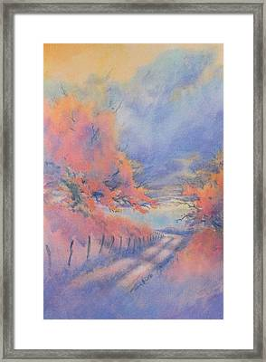 Hill Country Back Road No 3 Framed Print