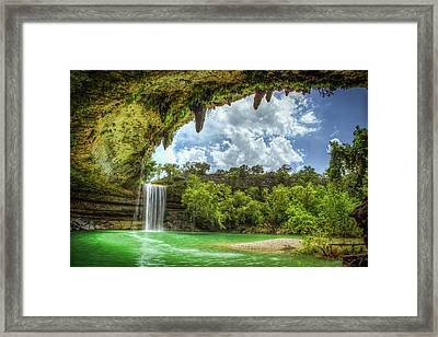 Hill Country Paradise Framed Print