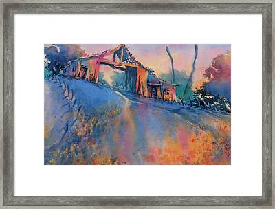 Hill Country Spring No 3 Framed Print
