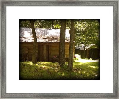 Hill Folk Framed Print by Lesli Sherwin