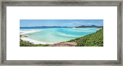 Framed Print featuring the photograph Hill Inlet Lookout by Az Jackson