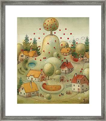 Hill Framed Print by Kestutis Kasparavicius