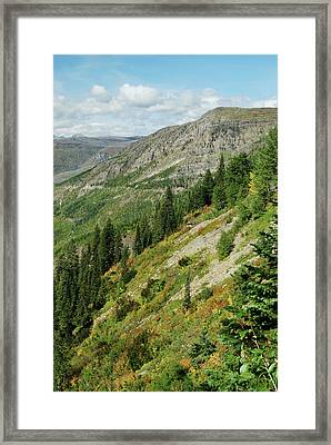 Hill Of Glory Framed Print