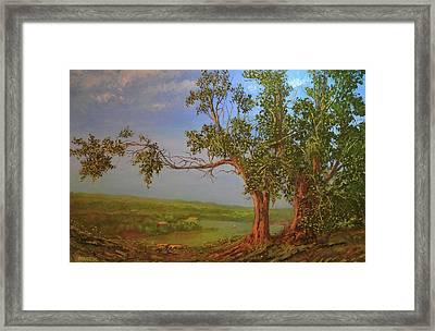 Hill Top Framed Print