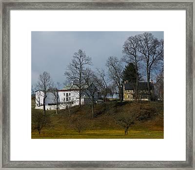 Hillhurst Farm Framed Print by Gordon Beck