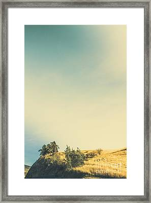 Hills Of Plenty Framed Print by Jorgo Photography - Wall Art Gallery