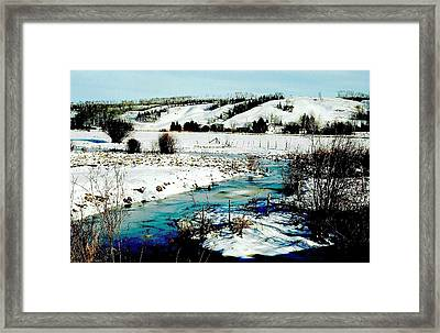 Hills Of Tawatinaw Framed Print
