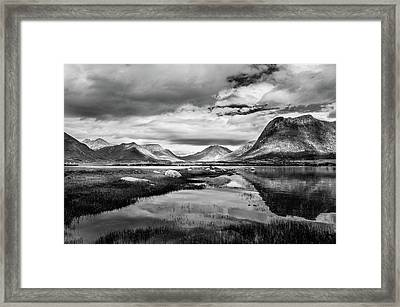 Hills Of Vesteralen Framed Print