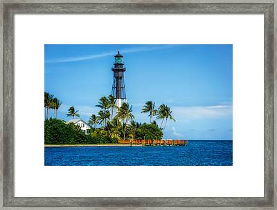 Hillsboro Inlet Lighthouse - 1 Framed Print