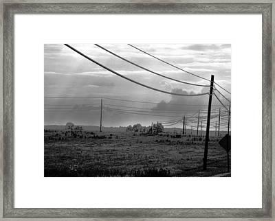 Hillsborough Road Framed Print by Brian Foxx