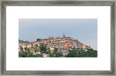 Framed Print featuring the photograph Hilltop by Richard Patmore