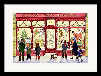 Toy Store Framed Prints