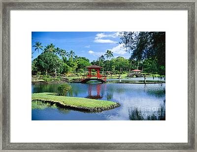 Hilo, Liliuokalani Garden Framed Print by Greg Vaughn - Printscapes