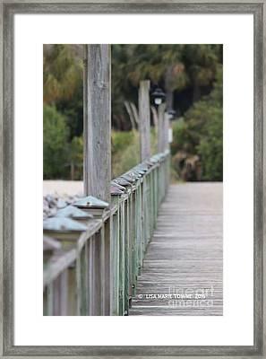 Hilton Beachway Framed Print