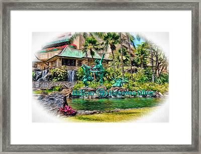 Hilton Hawaiian Village Waikiki Beach Resort Framed Print