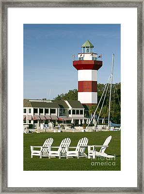 Hilton Head Island Lighthouse Framed Print