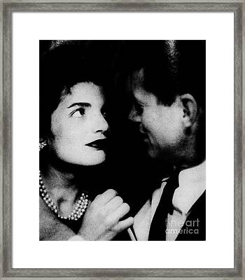 Him And Her Framed Print
