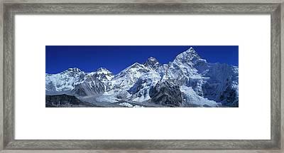 Himalaya Mountains, Nepal Framed Print