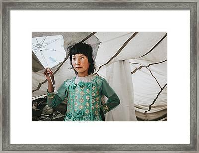 Himalayan Girl Framed Print