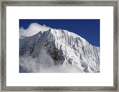 Himalayan Mountain Landscape Framed Print
