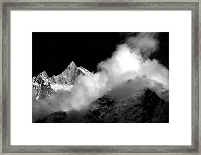 Himalayan Mountain Peak Framed Print