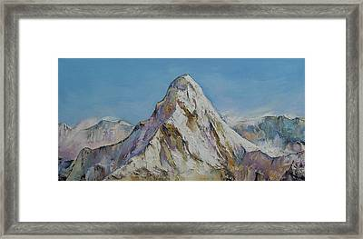 Himalayas Framed Print by Michael Creese
