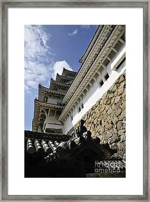 Himeji Castle Tower Framed Print