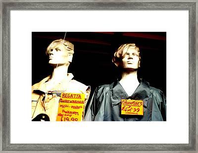 Hinckley Regatta Framed Print by Jez C Self