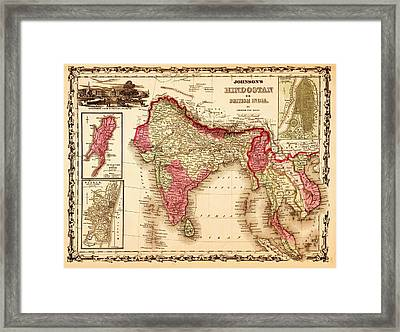 Hindostan Framed Print by Pg Reproductions