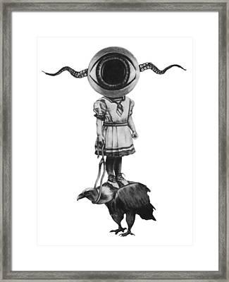 Hindsight Framed Print by Phil Spaulding