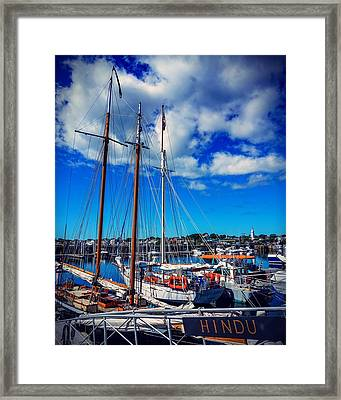 Framed Print featuring the photograph Hindu by Kendall McKernon