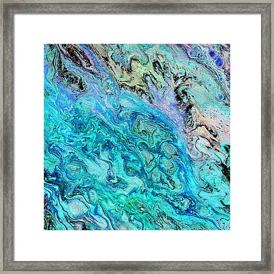 Hint Of Rainbow Framed Print