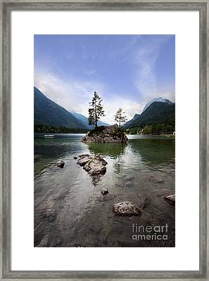 Hintersee Framed Print