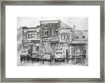 Hip Gypsy North Tonawanda Framed Print by Ylli Haruni