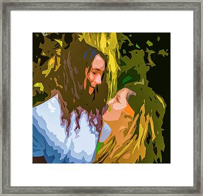 Hip Lovers Framed Print