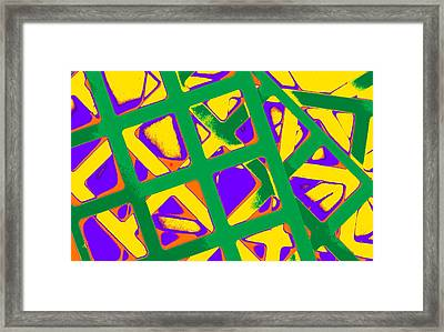 Hip To Be Square II Framed Print by Dolly Mohr