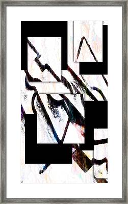 Framed Print featuring the digital art Hip To Be Square by Ken Walker