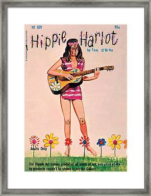 Hippie Harlot Framed Print