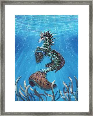 Hippocampus Framed Print